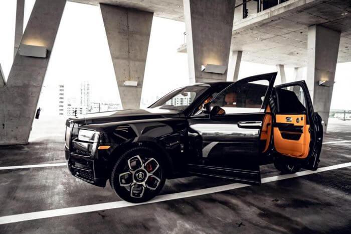 Rolls Royce Cullinan Black Badge Edition