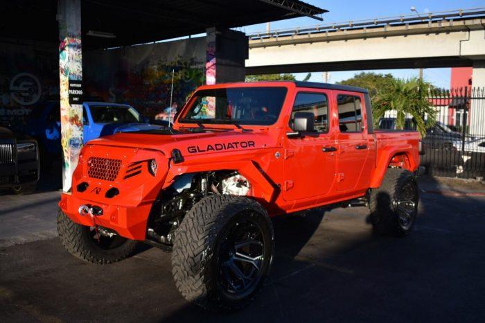 Jeep Gladiator Fully Custom Red 2021 4×4