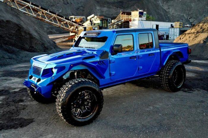 Jeep Gladiator Fully Custom Blue 2021