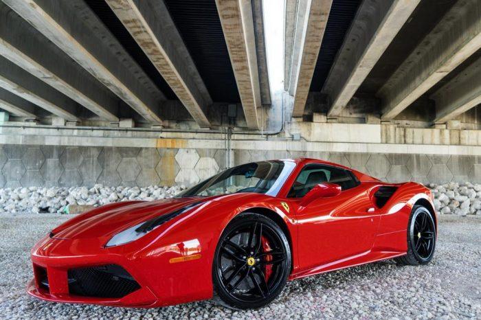 Ferrari 488 Spyder Carbon Fiber Edition
