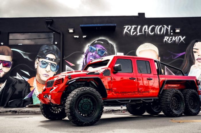 Jeep Gladiator Fully Custom Red 2021 6×6