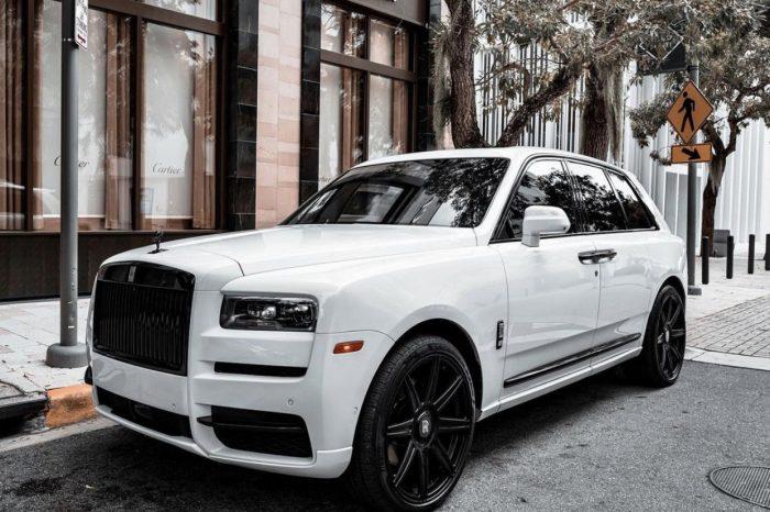 Rolls Royce Cullinan White